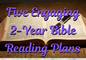 2-year Bible Study plans featured